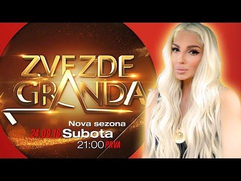ZVEZDE GRANDA 2016 – 2017 – prva emisija – 24. 09. – najava nove sezone