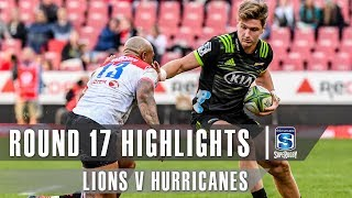 Lions v Hurricanes Rd.17 2019 Super rugby video highlights
