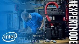 The Refrigerator Rig | #ExpertMode Ep. 1 | Intel