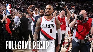 THUNDER vs TRAIL BLAZERS | MUST-SEE Finish That Will Leave You SPEECHLESS! | Game 5 by NBA