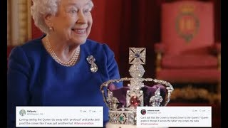 Video Queen Elizabeth coronation - BBC viewers praise Queen for being casual about the crown MP3, 3GP, MP4, WEBM, AVI, FLV Januari 2018