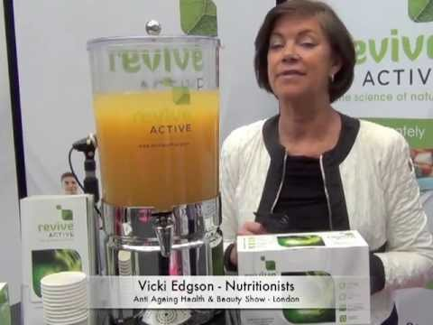 Vicki Edgson on the benefits of Revive Active in her practice (видео)