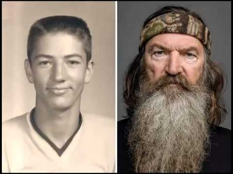 Duck Dynasty Stars Without Beards; Photos of Phil Robertson, Uncle Si, Willie and Co  Go Viral