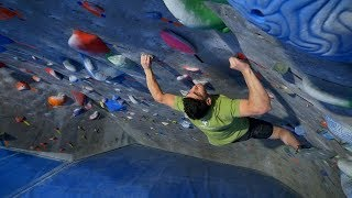 Climbing In One Of The Coolest Gyms - The Spot - Episode 2 by Eric Karlsson Bouldering