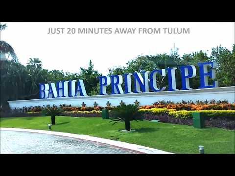 Cancun Airport Transportation to Bahia Principe, Akumal near Tulum By MeetPlaya Transfers