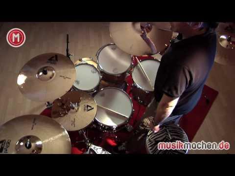Alpha Brilliant Cymbals im Test auf MusikMachen.de