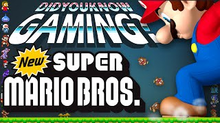 Video New Super Mario Bros - Did You Know Gaming? Feat. Beta64 MP3, 3GP, MP4, WEBM, AVI, FLV Desember 2017