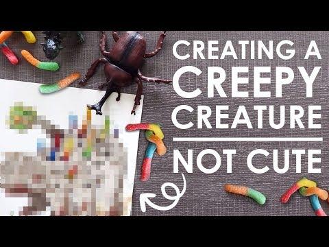 Designing A CREEPY Creature?! - w/ Katelyn McCaigue