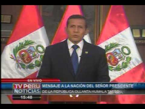 """Ollanta Humala ratifica que proyecto """"Tía María"""" no se suspenderá"""