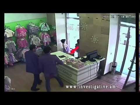 Գողություն՝ Երևանի խանութներից (Տեսանյութ)