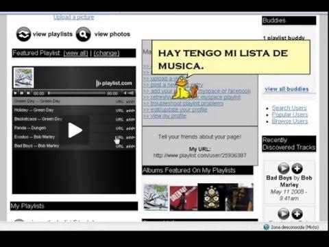 crear reproductores para paginas web y blog's... (facil)