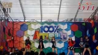 SOS (Sensation Of Stage) - Independent Girl Fancam Version Live at 100% Ampuh Global TV 130514