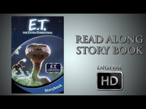 E.T. the Extra Terrestrial - Read Along Story book - DigitalHD  - Spielberg - Read by Drew Barrymore