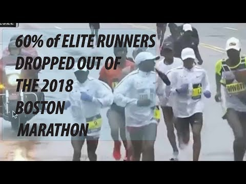 BOSTON MARATHON: WHY I THINK 60% OF THE ELITE RUNNERS DROPPED OUT | SAGE RUNNING PODCAST