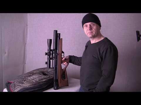 EDgun Matador R5M  25 test shooting (видео)
