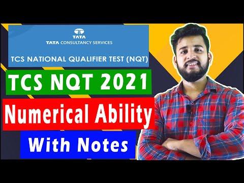 Numerical Ability Questions TCS NQT 2021   TCS NQT 2021 Preparation #tcsnqt2021 #tcsnqt2021syllabus