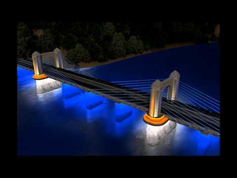 Nahcıvan Köprü Aydınlatma Projesi - Aydınlatio   Mimari Aydınlatma Tasarımı