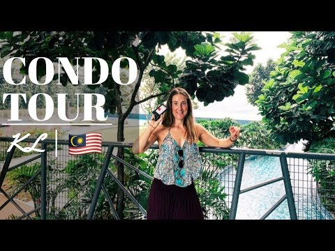Airbnb Condo Tour   Kuala Lumpur🇲🇾