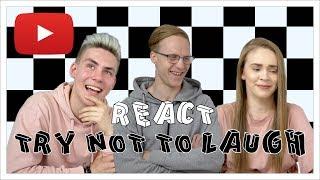 Ürita Mitte naerda REACT  Eesti YouTuberid Nüüdsest igal teisipäeval uus reacti osa just siin kanalil. Subscribei ja lülita sisse teated, et järgmist uploadi mitte ...