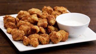 Cheddar Parmesan Cauliflower Bites by Tasty