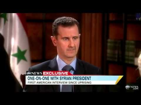 syrian president - Barbara Walters discusses brutal crackdown of protests with Syria's president. For more on this story go here: http://abcn.ws/sQoUb4.