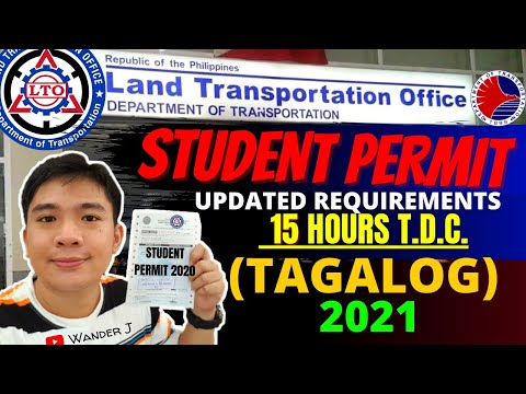 LTO STUDENT PERMIT   UPDATED REQUIREMENTS, QUALIFICATIONS & STEPS GUIDE   JANUARY 2021   TAGALOG