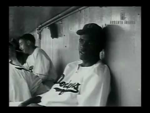 Classic Jackie Robinson Footage
