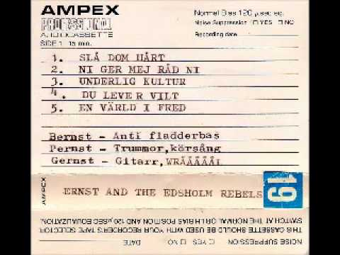 E.A.T.E.R  - Unreleased Demo 198X ( Ernst And The Edsholm Rebels's) FULL
