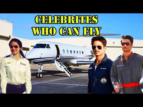 Top 5 Bollywood Celebrities Who Can Fly a Plane