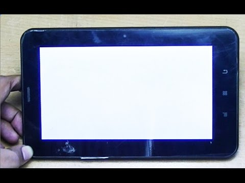 Android Tablet White Screen fix