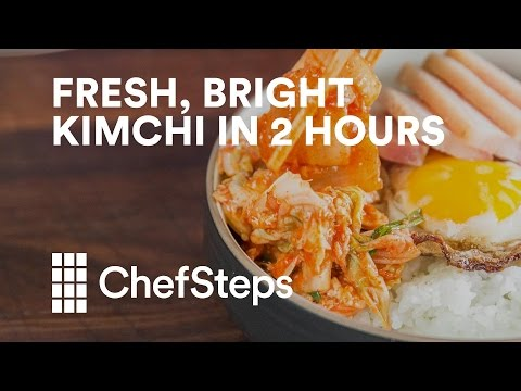 How To Make Kimchi In Two Hours Flat
