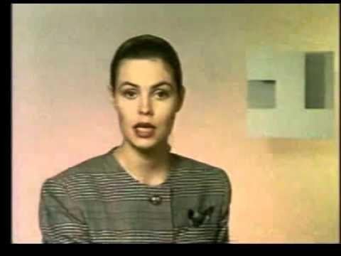 Диктор Екатерина Андреева 1 канал Останкино 1993