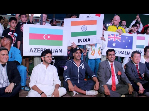 Akshay Kumar Flag Off The Ceremony Of 2nd Kudo World Cup, Hosted in India