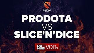 ProDota vs SnD, game 1