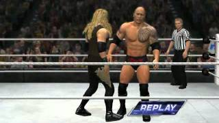 Christan defeated The Rock - #WWE12