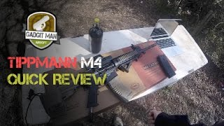 A quick review of my new Tippmann m4 carbine. This gun is very unique and fun to use. I would pick this over any AEG any day and recommend to fellow airsoft ...