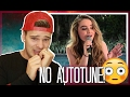 Sabrina Carpenter's REAL VOICE (WITHOUT AUTOTUNE) REACTION!