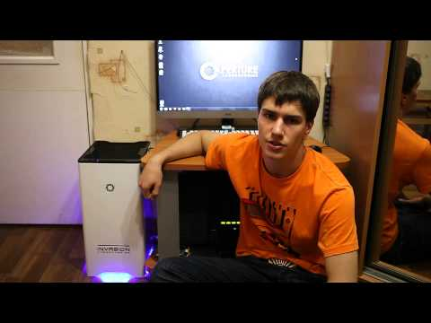 INVASION Labs: отзыв о компьютере Invasion Vortex Portal Edition (Spartacus) от Игоря Секнина