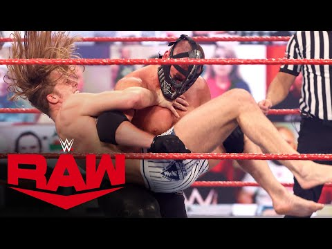 Riddle & Lucha House Party vs. RETRIBUTION: Raw, Mar. 1, 2021