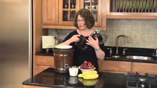 2 Quart Frozen Yogurt-Ice Cream & Sorbet Maker  Demo Video Icon