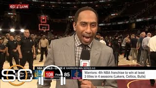 Stephen A. on Cavaliers' NBA Finals Game 4: 'It was an embarrassing effort' | SC with SVP | ESPN