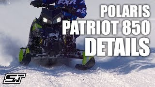 6. All You Need to Know About Polaris' Patriot 850 Engine