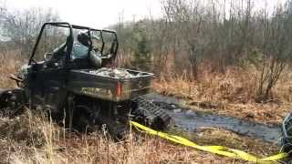 2. Tracks vs. Tires on a Polaris Ranger