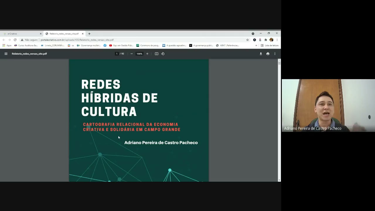Ciclo de Palestras Economia Criativa em Pauta - PALESTRA 3 (FCMS/Lei Aldir Blanc)