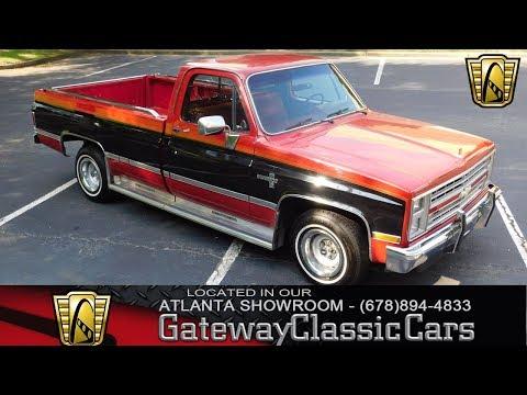 1985 Chevroelt C10, Gateway Classic Cars-Atlanta #928