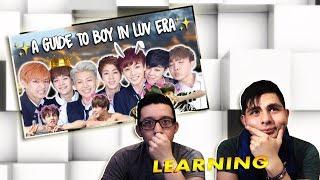 Video GUYS REACT TO BTS 'A Guide To BTS: Boy In Luv Era' MP3, 3GP, MP4, WEBM, AVI, FLV Agustus 2018