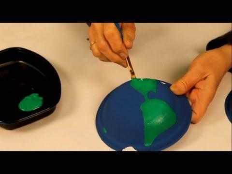 Faire un globe terrestre