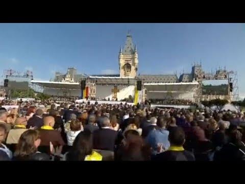 Ο Πάπας Φραγκίσκος στο Ιάσιο
