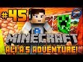 "Minecraft - Ali-A's Adventure #45! - ""CREEPER HOUSE!"""