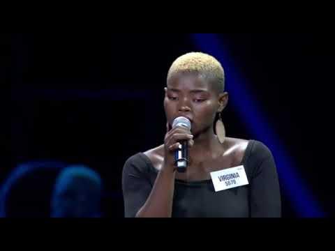 Idols Virginia Qwabe - Group performance (Theatre week)